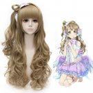 Anime Cosplay Hollywood Costume Wig Character Long Wavy Synthetic Hair Wig SALE