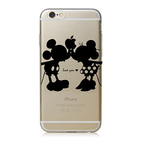 Mickey and Minnie Clear Case Covers for iphone 5 and 5S- SALE