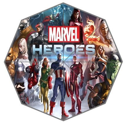Marvel Heroes Hollywood Designs 3 fold Umbrella - FREE SHIPPING