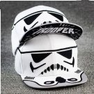Storm Trooper Baseball Cap hat Star Wars Adult White -FREE SHIPPING