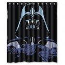Darth Vader Star Wars Design Shower Curtain 2 Size options