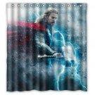 Thor Chris Hemsworth Celebrity Design Shower Curtain 2 Size options