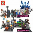 Guardians of the Galaxy 8pc Mini Figures Building Blocks Minifigures Block Build Set