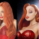 Jessica Rabbit Copper Red Wig Adult Halloween Costume Accessory New STILL AVAILABLE