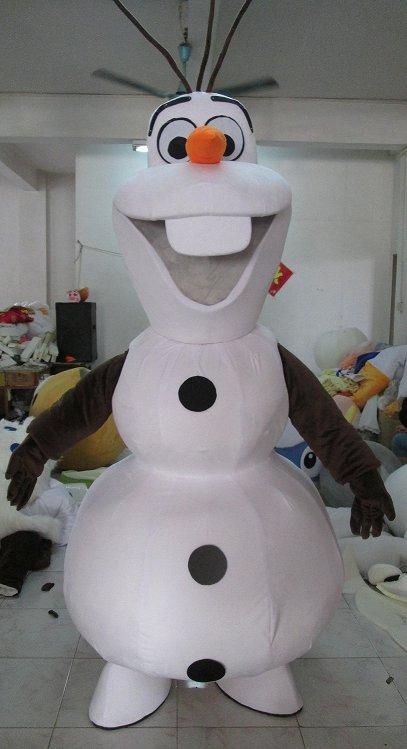 Olaf Disney Frozen Character Adult Mascot Costume