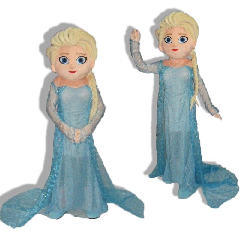 Elsa Mascot Costume Disney Frozen Character - NEW