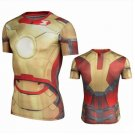 Ironman Compressed Fit SuperHero T Shirt-ON SALE ENDS SOON $3 SHIPPING