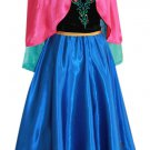 Anna Frozen Adult Costume Dress Female