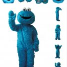 Cookie Monster Mascot Character Adult Costume