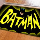 Batman Accent Bedroom Carpet, Bath or Door Mat -NEW