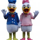 Donald Duck Disney Character Mascot Costume or Daisy