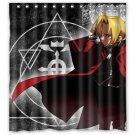 Fullmetal Alchemist Shower Curtain Anime Cartoon Hollywood Designs