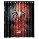 Spiderman Shower Curtain Anime Cartoon Marvel Hollywood Designs