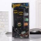 Batman Dark Knight Earphones Set Marvel DCSuperhero 3.5MM iphone, mp3, android