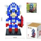 Captain America  Figure Building Block LOZ Marvel Avengers Superhero