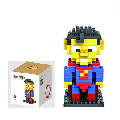 Superman Figure Building Block LOZ Marvel Avengers Superhero