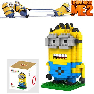 Minion Despicable Me Figure Building Block LOZ Character