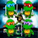 Ninja Turtles Figure Building Block LOZ Character 4 Colors
