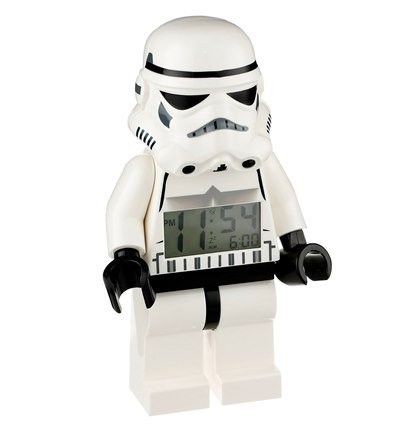 Storm trooper Lego Alarm Clock Star Wars Collection