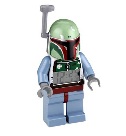 Boba Fett Lego Alarm Clock Star Wars Collection
