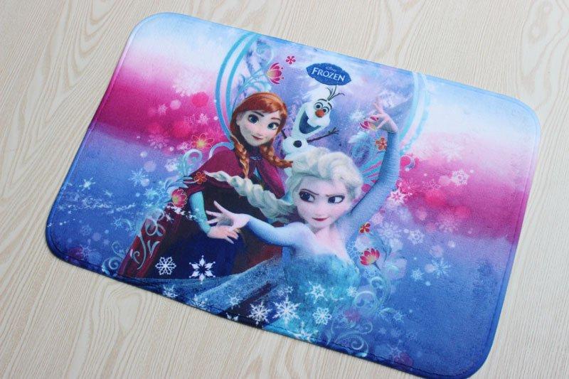 Frozen Elsa Anna Bath Mat Accent Rug for Bath Bedroom Living Room
