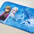 Frozen Elsa Anna Snow Princess Bath Mat Accent Rug for Bath Bedroom Living Room