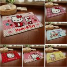 Hello Kitty Accent Carpet Rugs for Bedroom Living Room Green