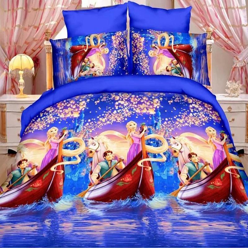 Frozen Elsa Anna Design Bedding Cover Set NEW - Queen Size SALE