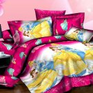Belle and Cinderella Princess Design Bedding Cover Set NEW - Queen Size SALE