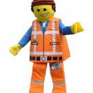 Lego Man Figure Mascot Character Adult Costume