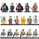 Star Wars 17pc Mini Figures Building Blocks Minifigures Block Build on SUPER SALE