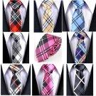 Plaid Mens Neck Ties  Multi Color Selection - 7 Colors