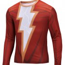 Flash 2 Compressed Superhero Long Sleeve Shirt Marvel Small to 6XL SALE $15