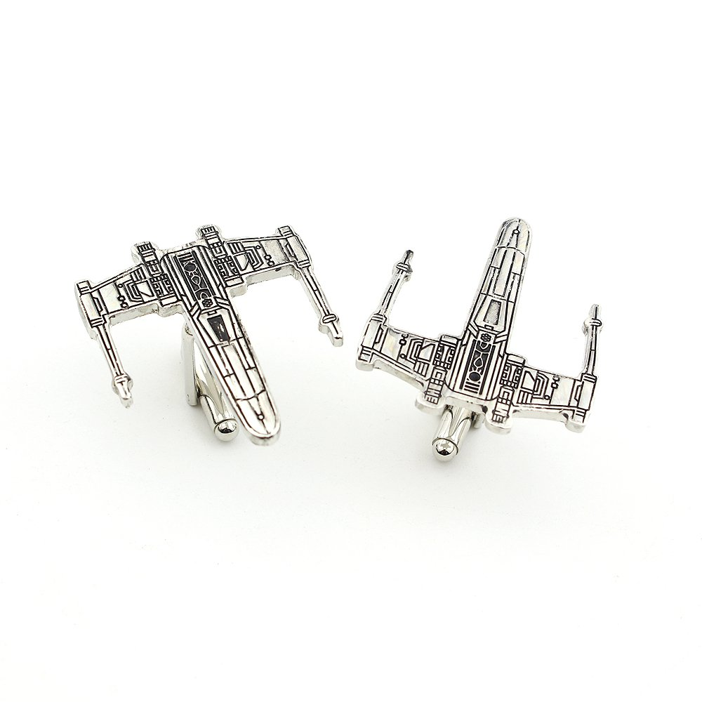 Star Wars Spacecraft Enamel Cufflinks Star Wars Pair / Set
