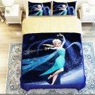 Frozen Elsa Snow Princess 5pc Comforter Bedding Set 3szs SALE