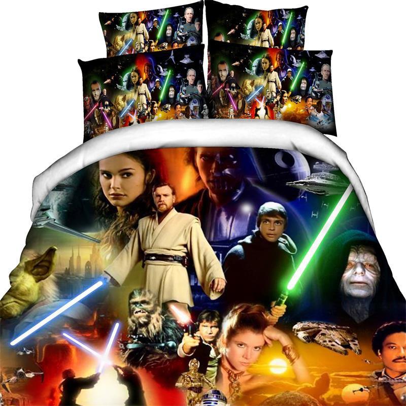 Star Wars Force Awakens Bedding Design Cover Set 1  Full Twin