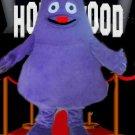 Grimace Mascot Costume Mc D's Character -New