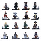 Pirates of the Caribbean 16pc Mini Figures Building Blocks Minifigures set