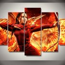 Hunger Games Movie Jennifer Framed 5pc Oil Painting Wall Decor bedroom art