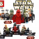 Star Wars 8pc Storm Troopers Red Clone Mini Figures Building Blocks Minifigures Block Build Set 2