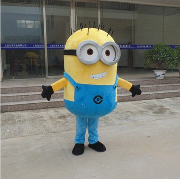 Minion 5 Adult Character Mascot Costume Despicable me