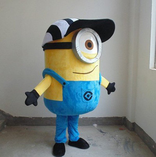 Minion 2 Adult Character Mascot Costume Despicable me -
