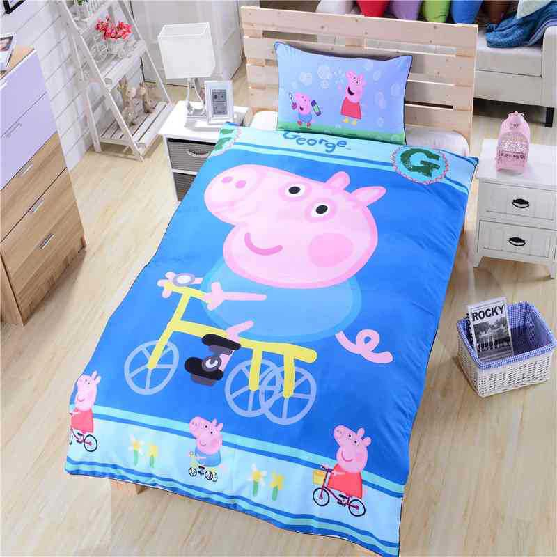 Peppa Pig 3PC Design Bedding Cover Set NEW - Queen Size SALE $5 SHIP