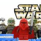 Star Wars 8pc Storm Troopers Red Clone Mini Figures Building Blocks Minifigures Block Build SALE