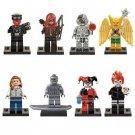 Minifigure Popular Villan Superhero 8pc Mini Figures Building Blocks Minifigures set