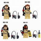 GHOSTBUSTERS 4pc Mini Figures Building Blocks Minifigures Block Build Set 2 DAY SALE