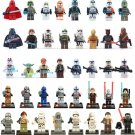 Star Wars 40pcs Minifigures for Building Blocks Minifigures Darth Vader Force Awakens Storm Troopers