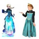 Elsa Frozen Princess Dress Costume Royal Queen Dress CHILD 3T, 4T, 5T, 6T, 7T, 8T SALE LIMITED TIME