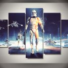 Star Wars Force Awakens Storm Trooper 5pc Wall Decor Framed Oil Painting bedroom art