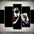 The Joker Batman DC Comics 5pc Wall Decor Framed Oil Painting #4 movie art Superhero